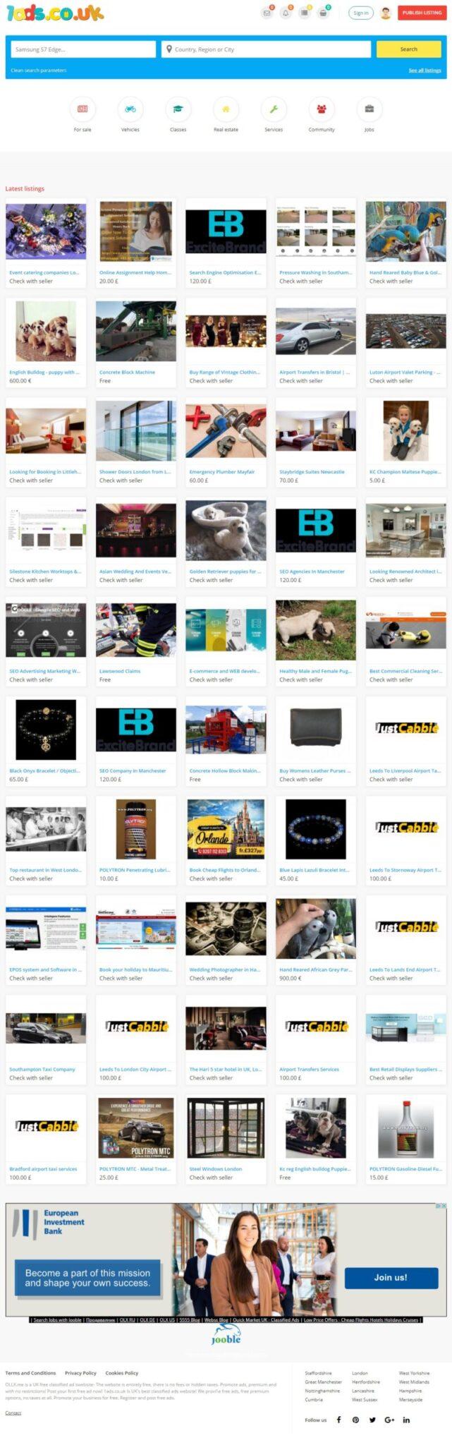 Уебсайт за обяви UK - 1ads.co.uk - изграждане СЕО.БГ SEO, маркетинг, реклама СЕО оптимизация, реклама, изграждане на сайтове, маркетинг, изработка на сайтове, уеб дизайн, SEO, онлайн магазини и други