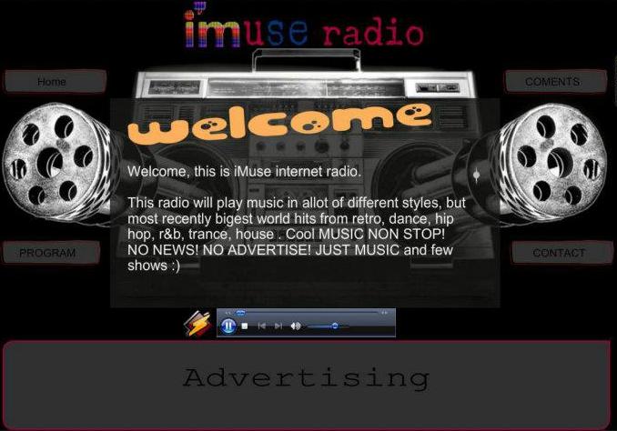 iMuse radio - онлайн радио imuseradio.tk