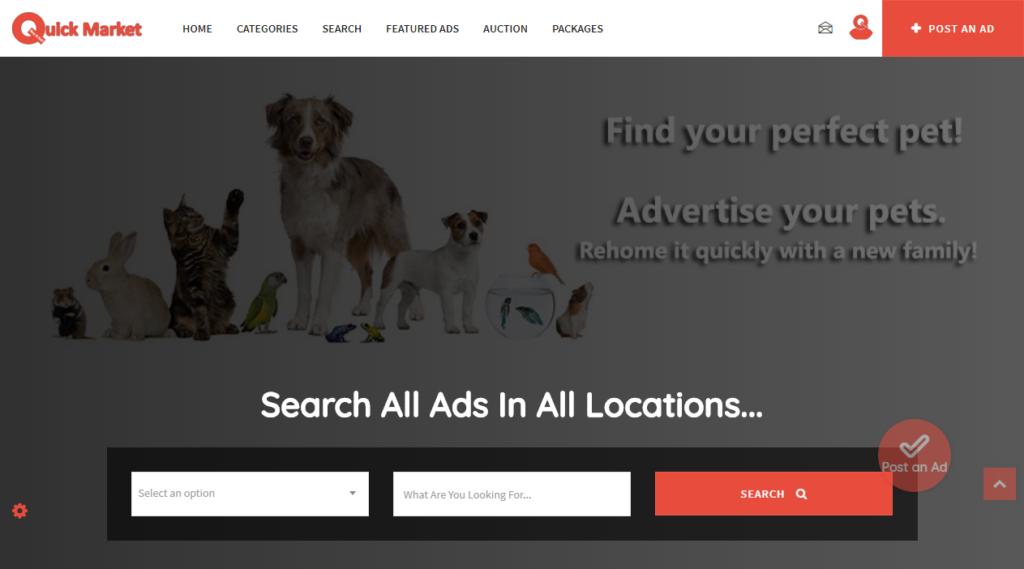 SEO и рекламиране, брандиране, изграждане на бизнес присъствие за QuickMarket.co.uk - сайт за обяви UK - сео, сео оптимизация, seo, seo оптимизация, реклама, маркетинг, сайт за обяви, обяви, безплатни обяви, UK, великобритания, сео.бг
